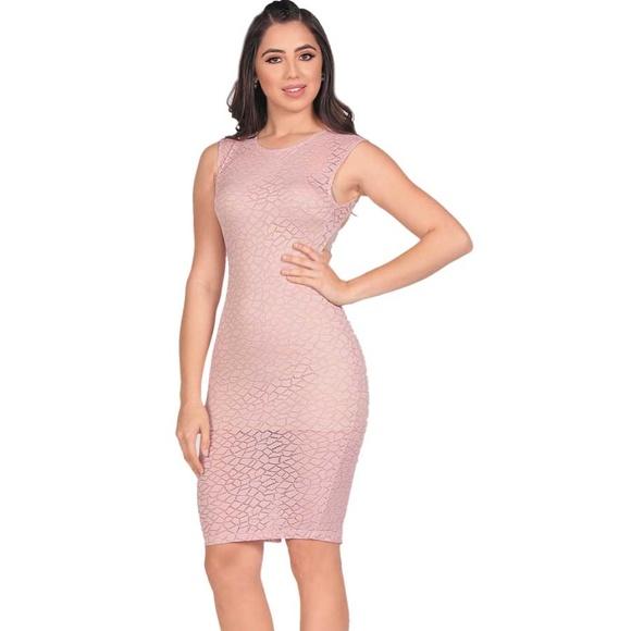 Vestidos Cortos Coqueta D4829 Pink Nwt